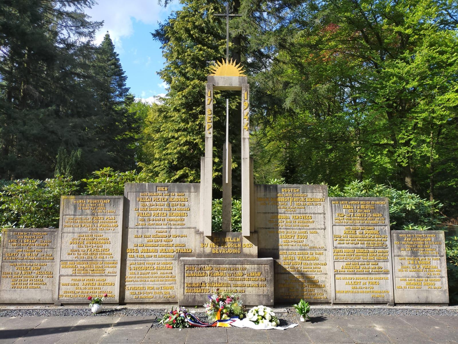 Monument omgekomen inwoners Wolfheze