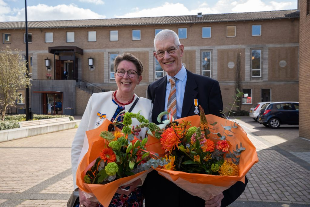 Koninklijke onderscheiding voor Michel en Marja van Tooren
